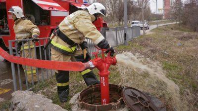 Проверка водоисточников противопожарного водоснабжения