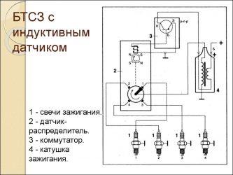 Как работает индуктивный датчик зажигания?