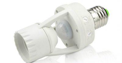 Выключатель с датчиком движения для светодиодных ламп