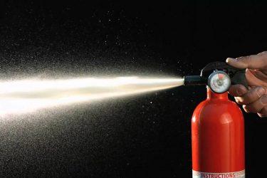 Огнетушитель взрывного действия