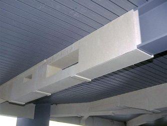 Конструктивная защита металлических конструкций