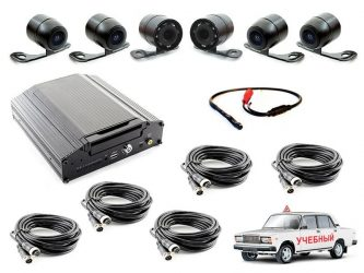 Установка видеонаблюдения на автомобиль