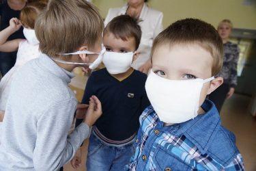 Противопожарная маска для детского сада