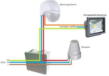 Не работает датчик движения на прожекторе