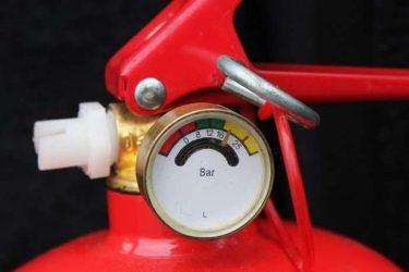 Индикатор на огнетушителе что означает?