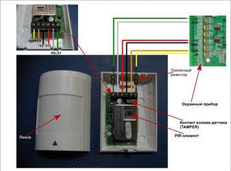Как отключить датчик движения сигнализации?