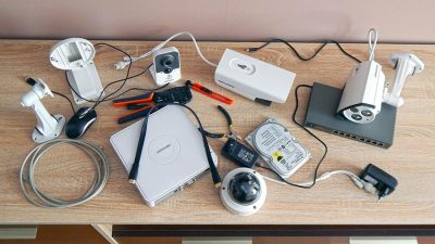 Установка системы видеонаблюдения своими руками