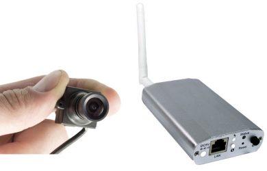 Камера видеонаблюдения миниатюрная wi Fi