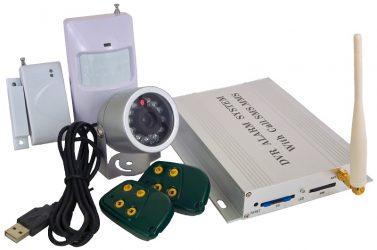 Охранная сигнализация для дома с видеокамерой