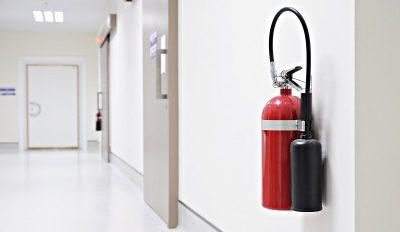 Как установить огнетушитель в помещении?
