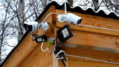 Организация видеонаблюдения на даче своими руками