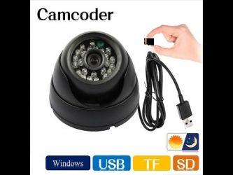Камеры видеонаблюдения на батарейках с флешкой