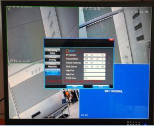 Изменение IP адреса камеры видеонаблюдения