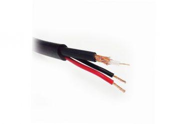 Коаксиальный кабель для видеонаблюдения уличный