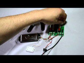 Имитация охранной сигнализации для квартиры