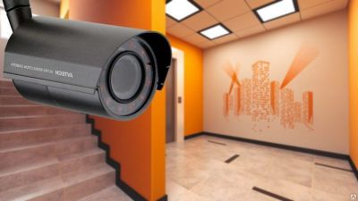 Установка видеонаблюдения в подъезде жилого дома
