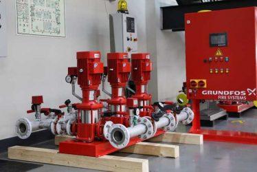 Требования к пожарным насосам повысителям