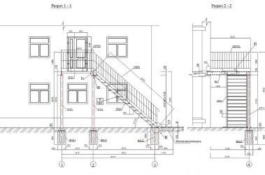 Эвакуационные лестницы требования пожарной безопасности