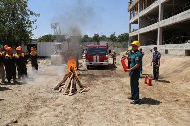Противопожарные мероприятия на строительной площадке