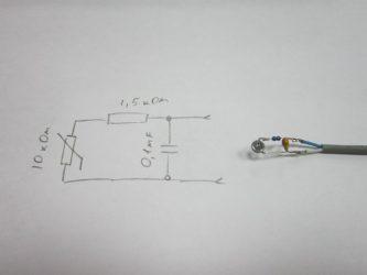 Датчик температуры для сигнализации своими руками
