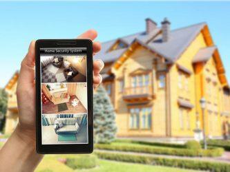 Видеонаблюдение за домом через телефон