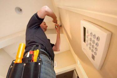 Установка пожарной сигнализации в жилых домах