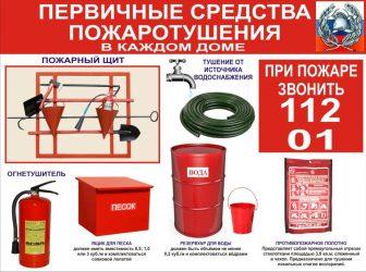 Пожарное оборудование и пожарный инструмент требования безопасности