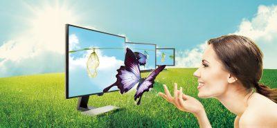 Технология защиты зрения в мониторах