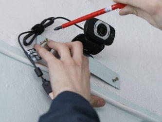 Установка видеонаблюдения в квартире своими руками