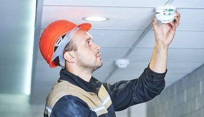 Обслуживание системы видеонаблюдения пожарной сигнализации