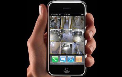 Видеонаблюдение через iPhone