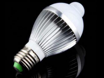 Датчик движения для энергосберегающих ламп