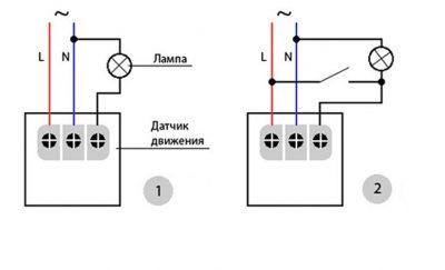 Почему не работает датчик движения для света?