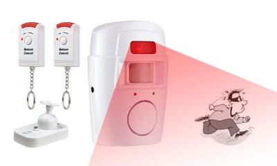 Домашняя сигнализация с беспроводными датчиками